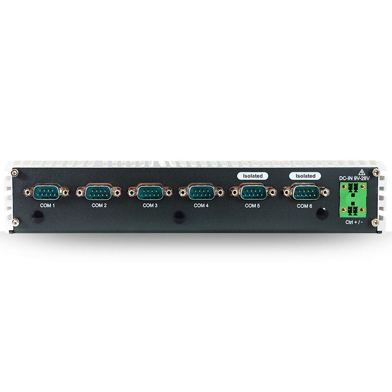 Fanless PC Box , PoE Embedded Systems - ABP-2845