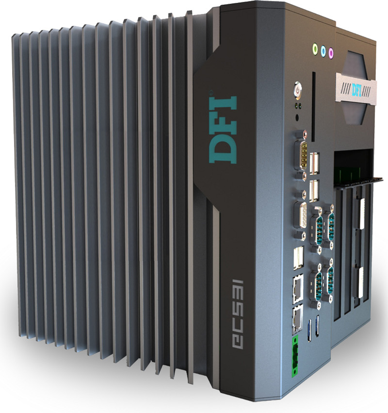 Box PC Fanless , Expandable Systems , High-Performance Systems - EC531-HM