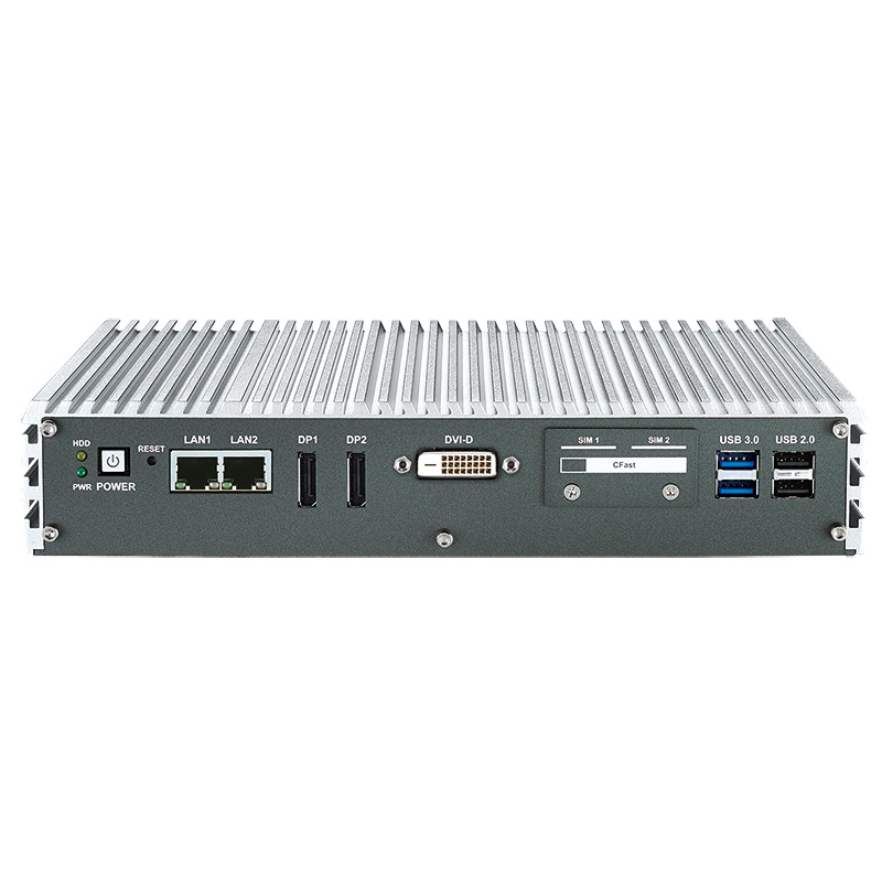 Fanless PC Box , High-Performance Systems - ECS-4000-2G