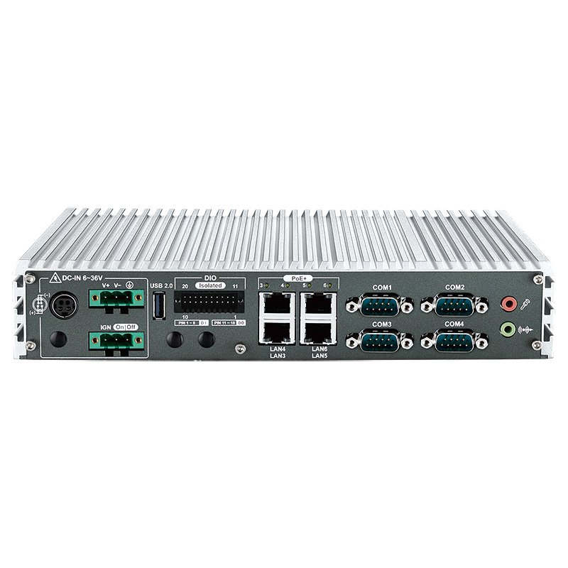 Fanless PC Box - ECS-4000-PoER