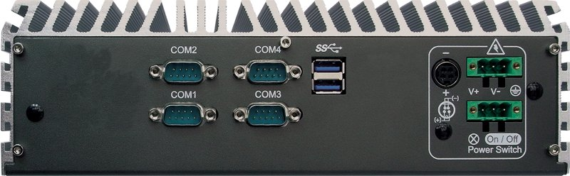 Fanless PC Box - ECS-7000-2G
