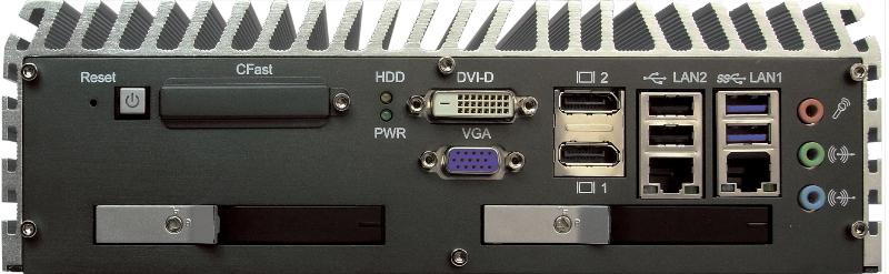 Box PC Fanless , High-Performance Systems - ECS-7000-2R