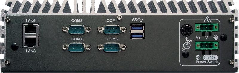 Box PC Fanless , High-Performance Systems - ECS-7000-4G