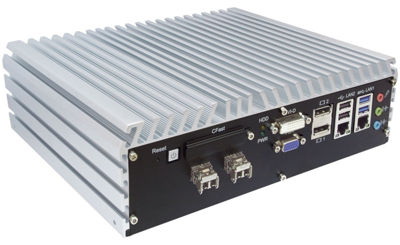 Fanless PC Box , High-Performance Systems - ECS-7000-6F