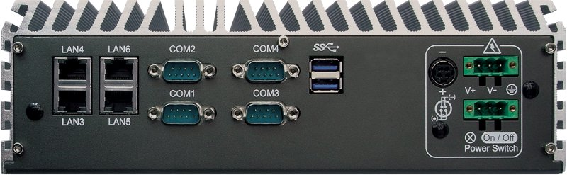 Fanless PC Box , High-Performance Systems - ECS-7000-6G