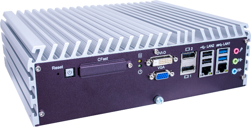 Box PC Fanless , Expandable Systems , High-Performance Systems , In Vehicle , PoE Embedded Systems - ECS-7710