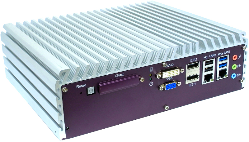 Expandable Systems , Fanless PC Box , High-Performance Systems , In Vehicle , PoE Embedded Systems - ECS-7800-PoE