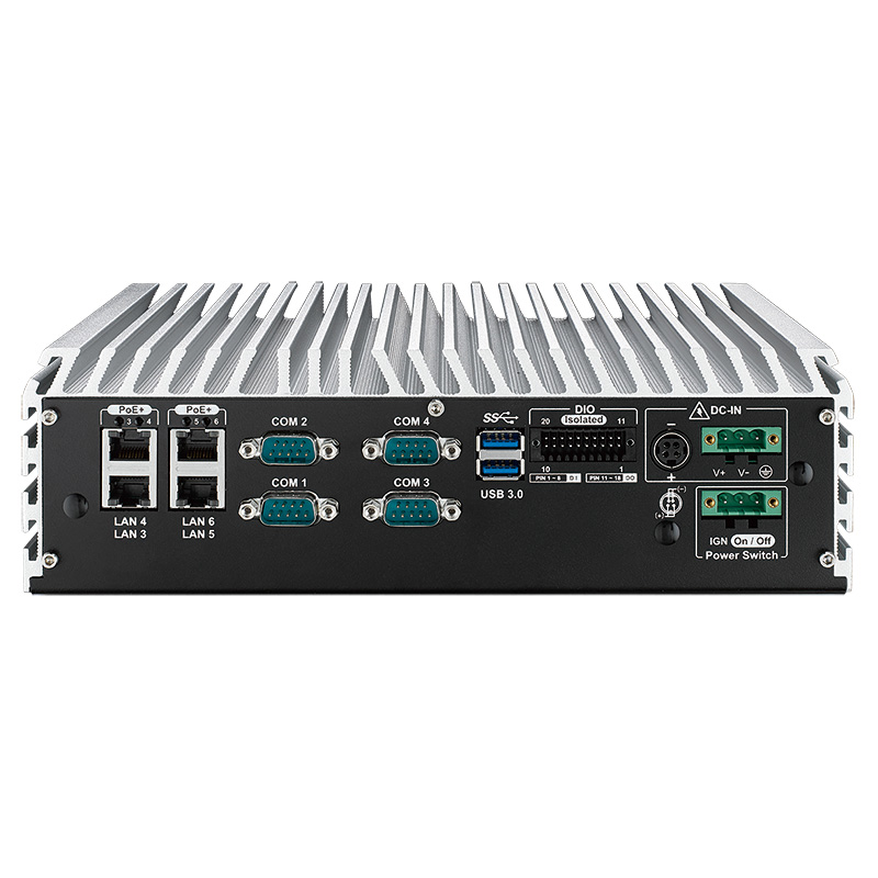 Box PC Fanless - ECS-8000-PoER