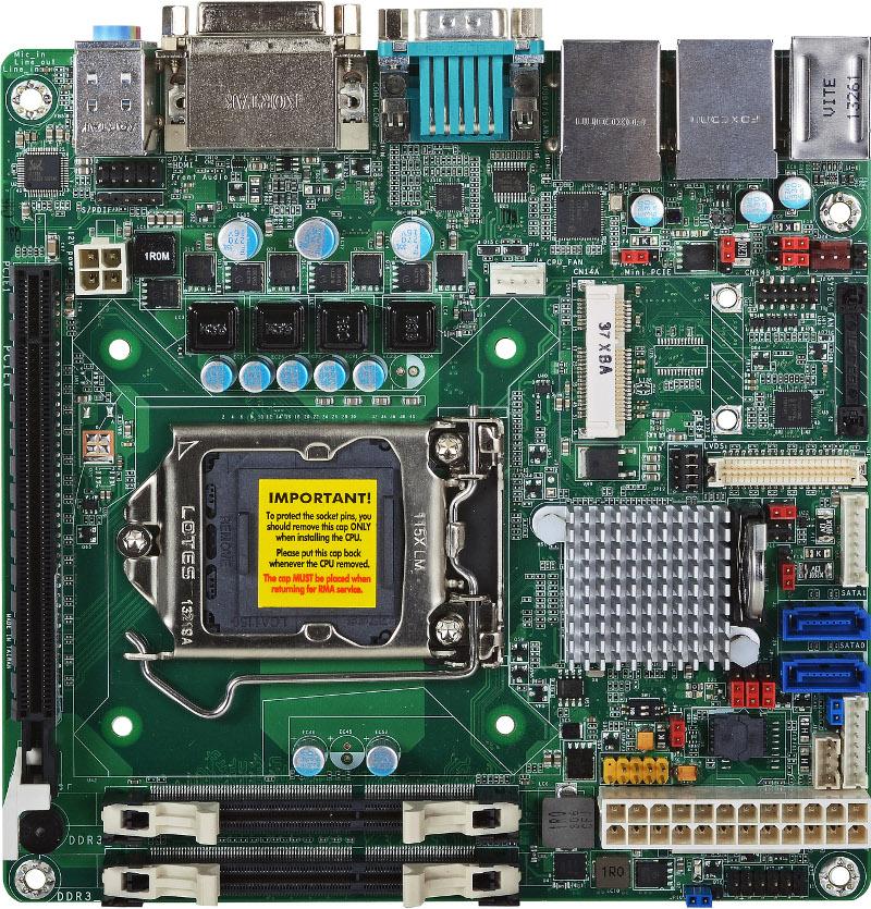 Mini-ITX , SBC INDUSTRIALI - HD100-H81