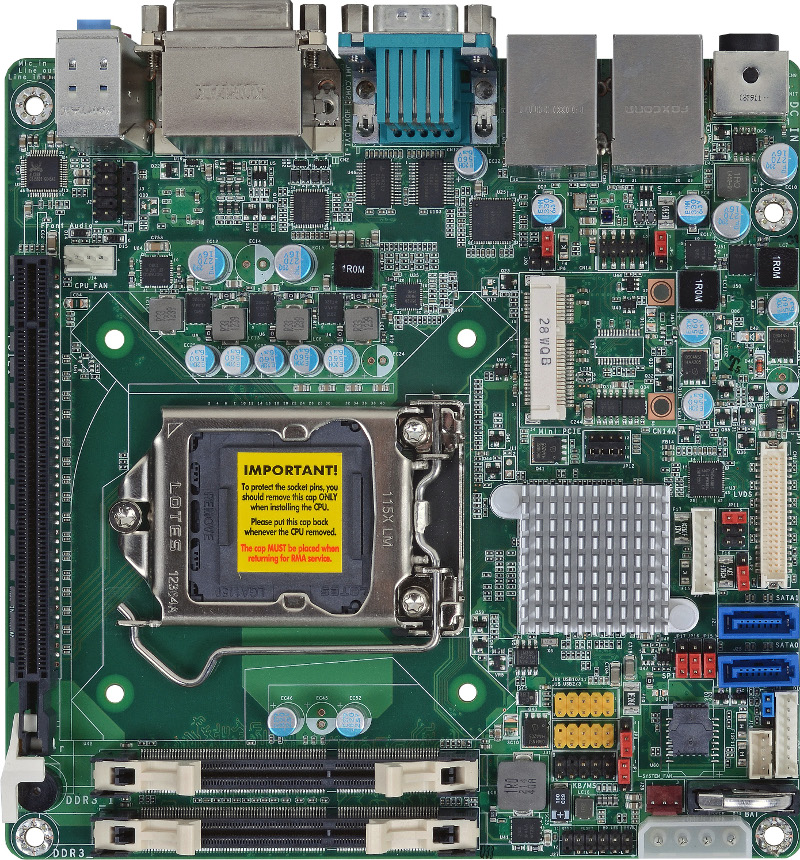 Mini-ITX , SBC INDUSTRIALI - HD101-H81