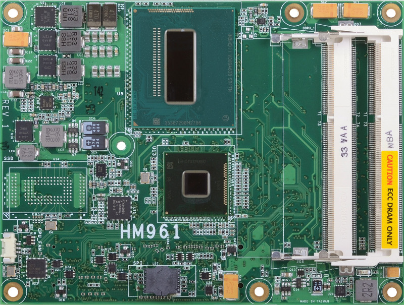 COM Express Basic , COMPUTER ON MODULE - HM961-QM87