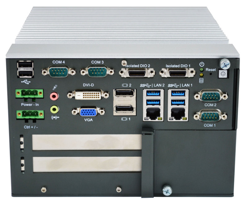 Box PC Fanless , Expandable Systems , High-Performance Systems - RCS-7211