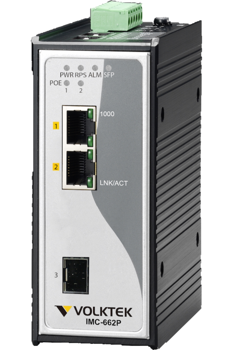 Industrial Ethernet Converters , Unmanaged - IMC-662P