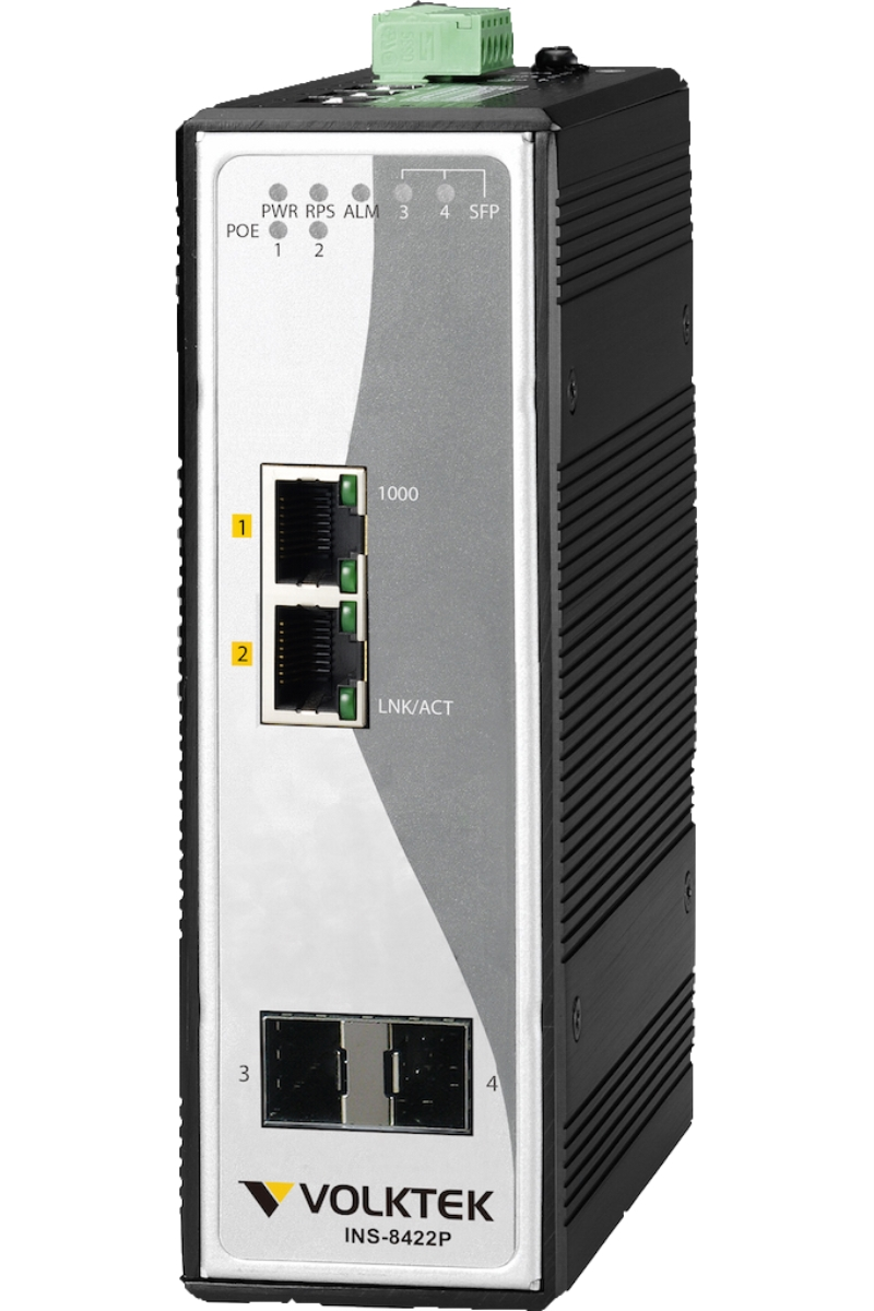 Industrial Ethernet Switches , Unmanaged - INS-8422P