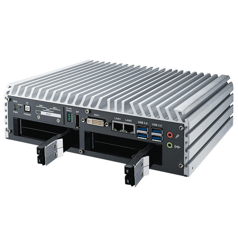 Box PC Fanless , Box PC Rugged , High-Performance Systems , In Vehicle , PoE Embedded Systems - IVH-7700-QRDM