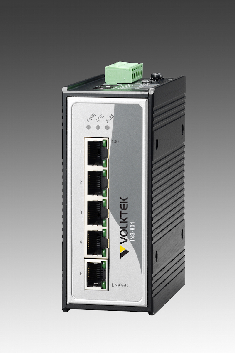 Industrial Ethernet Switches , Unmanaged - INS-801