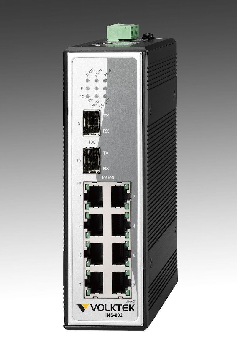 Industrial Ethernet Switches , Unmanaged - INS-802