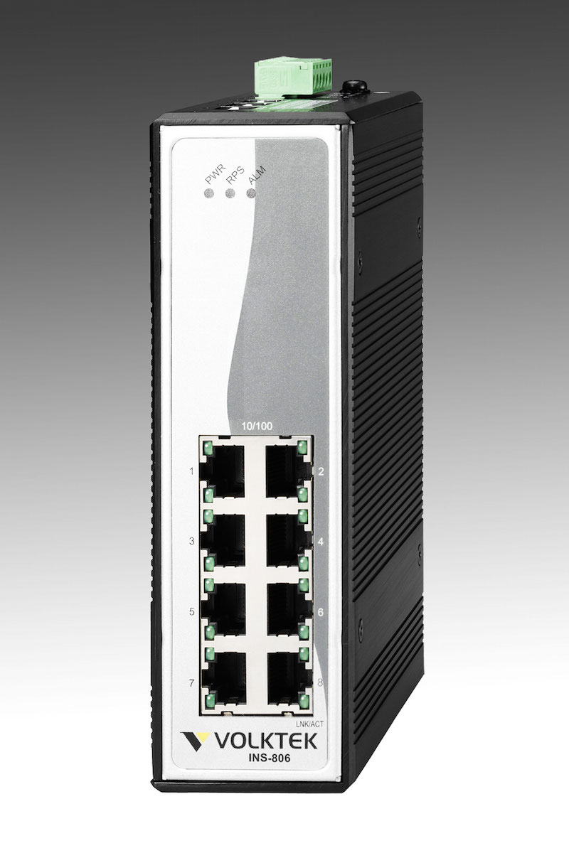 Industrial Ethernet Switches , Unmanaged - INS-806