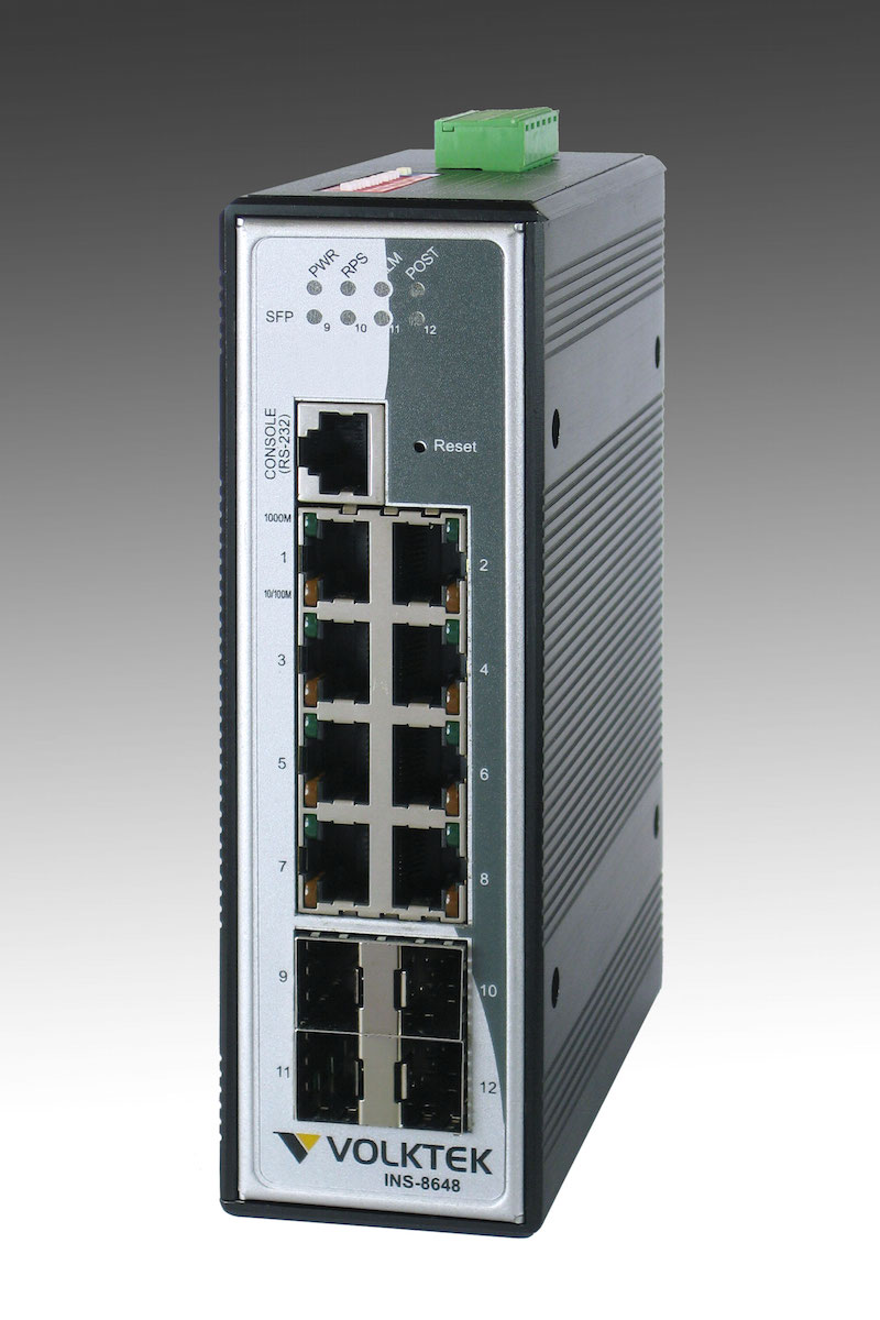 Industrial Ethernet Switches , Managed - INS-8648