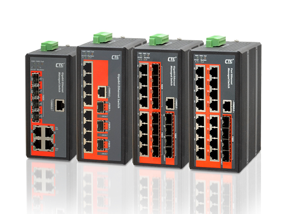 Industrial Ethernet Switches , Managed - IGS-812SM