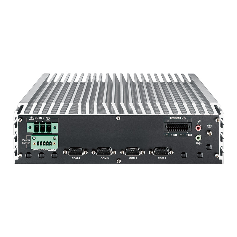 Fanless PC Box , In Vehicle - IVH-9000-2R