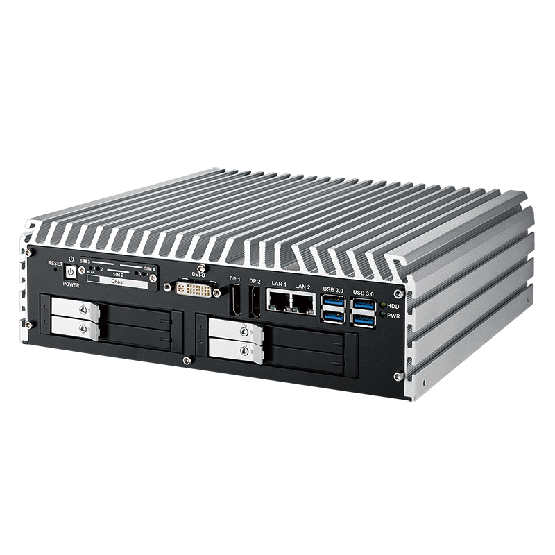 Box PC Fanless , In Vehicle - IVH-9000-2R