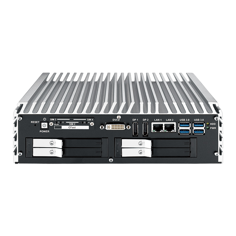 Box PC Fanless , In Vehicle - IVH-9008-PoER
