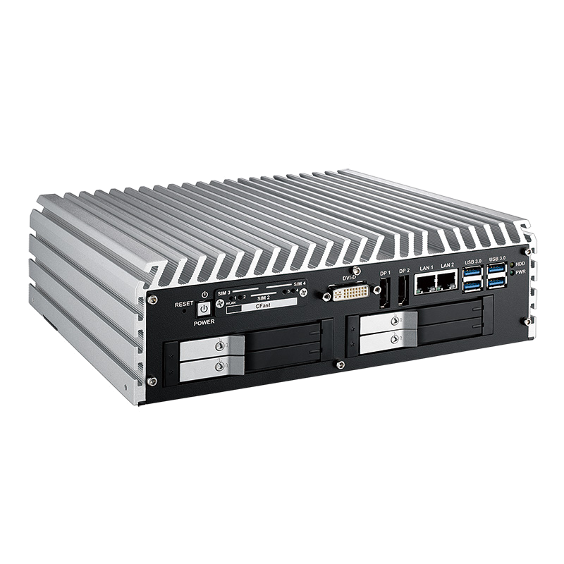 Fanless Box PCs , In Vehicle - IVH-9008-PoER