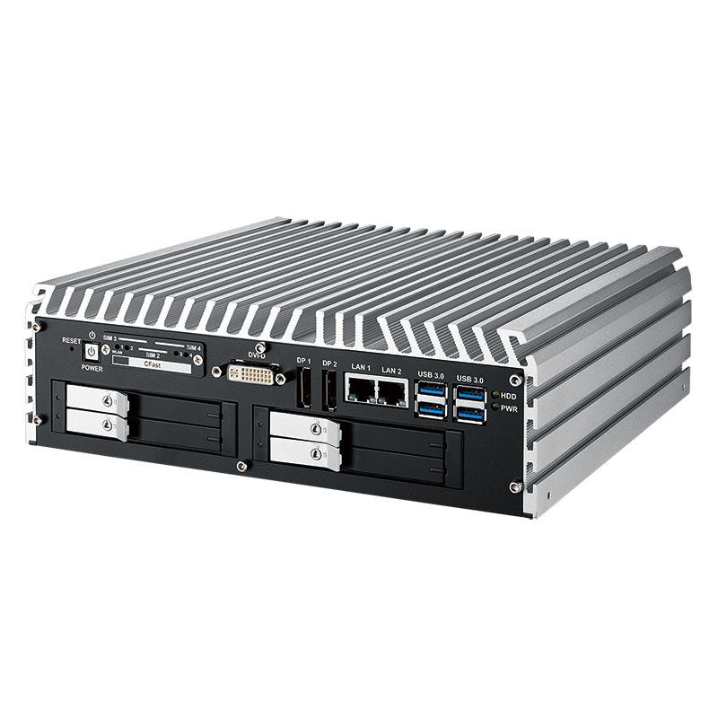 Box PC Fanless , High-Performance Systems , In Vehicle , PoE Embedded Systems - IVH-9008-PoER