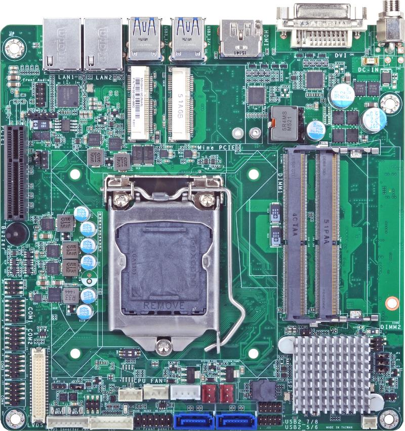 Mini-ITX , SBC EMBEDDED - SD103-Q170