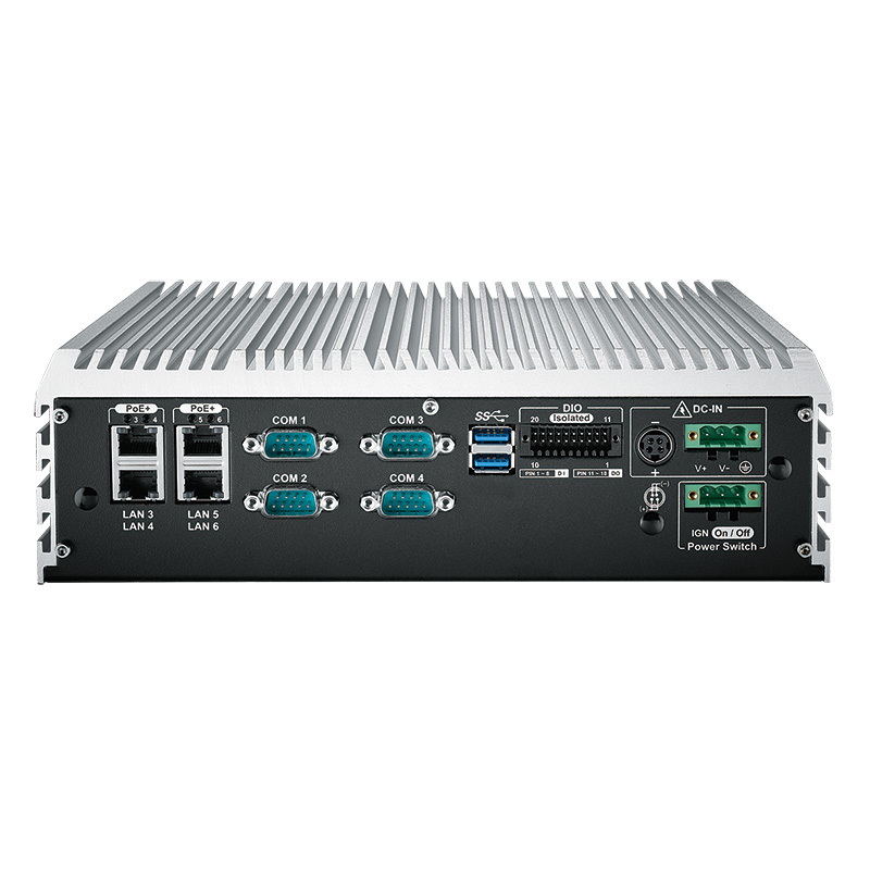 Fanless PC Box , High-Performance Systems - ECS-9000-9R