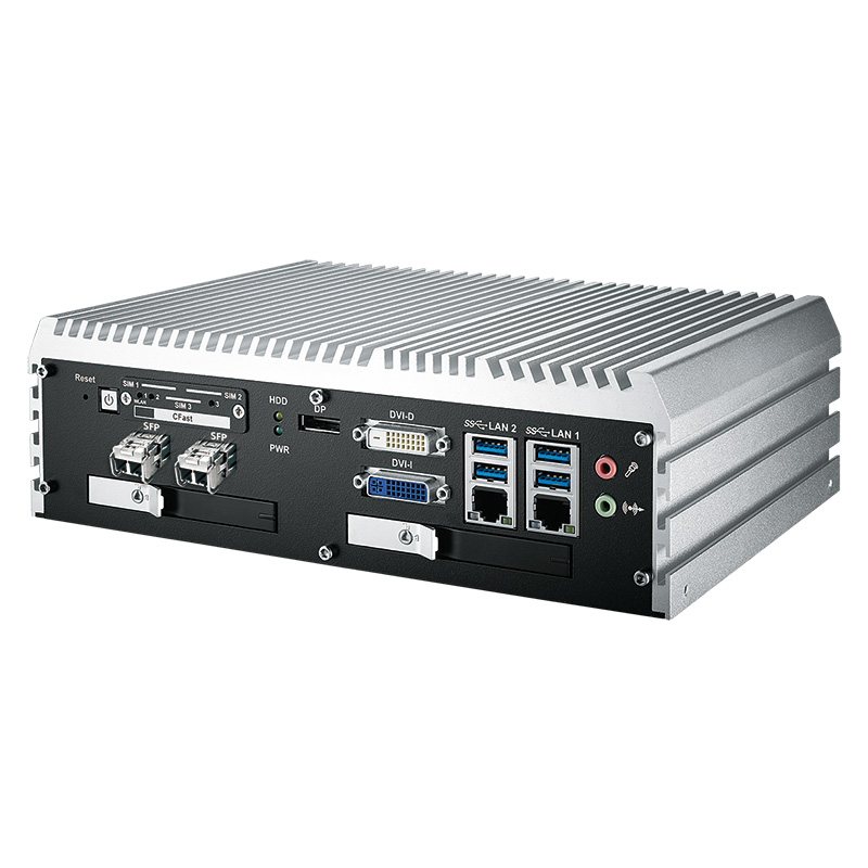 Box PC Fanless , High-Performance Systems - ECS-9000-6FR