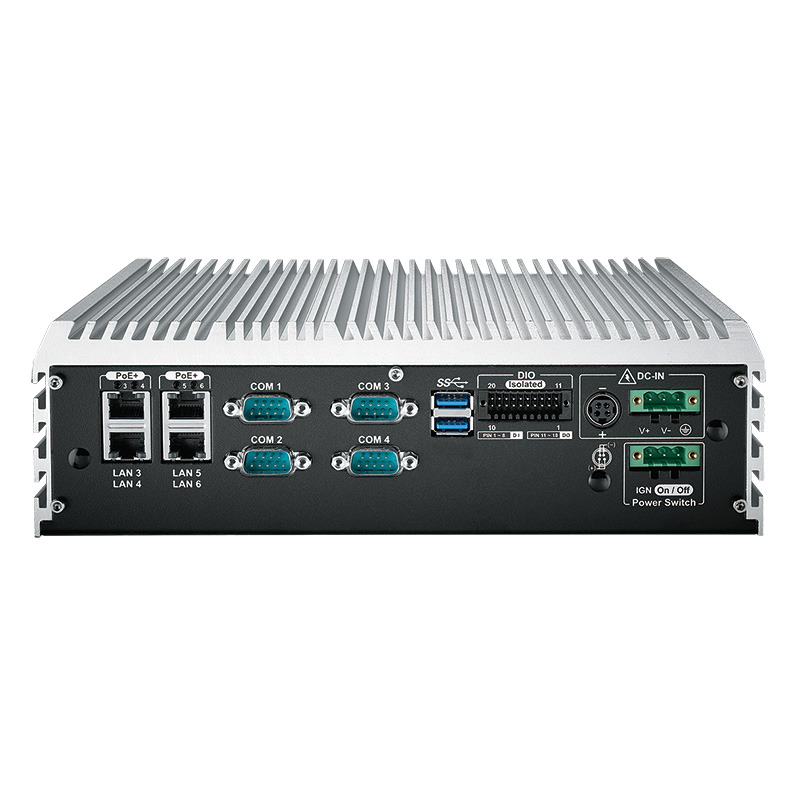 Box PC Fanless , High-Performance Systems - ECS-9000-9R