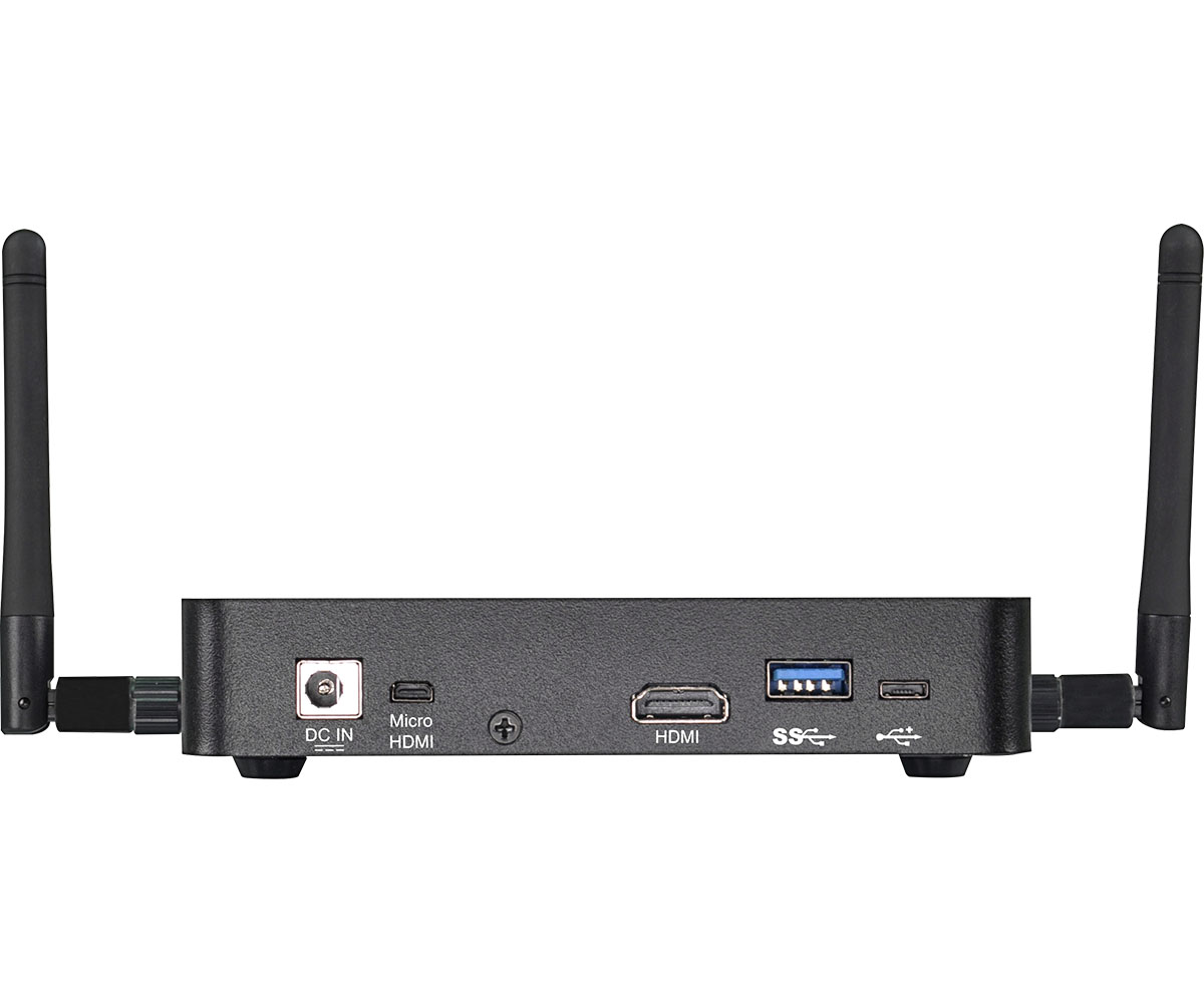 Fanless PC Box , Ultra-Compact Systems - uBOX-110