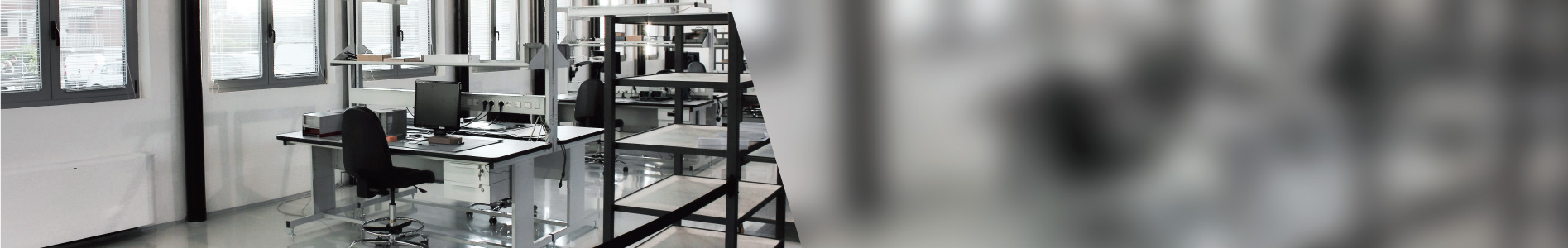- Our production facility<br/>Electrostatic protected area