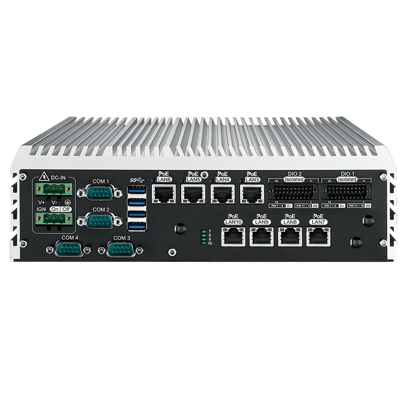 Fanless PC Box , High-Performance Systems - ECS-9280