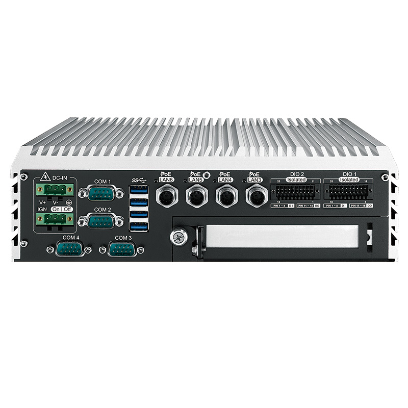 Box PC Fanless , Expandable Systems , High-Performance Systems , PoE Embedded Systems - ECS-9210M