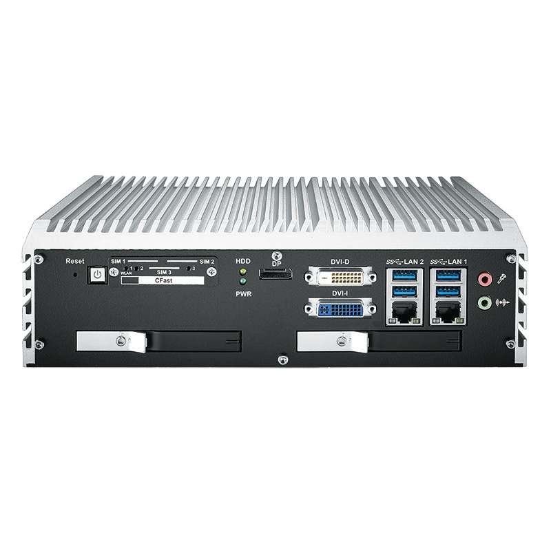 Fanless PC Box , High-Performance Systems , In Vehicle - ECS-9000-2R