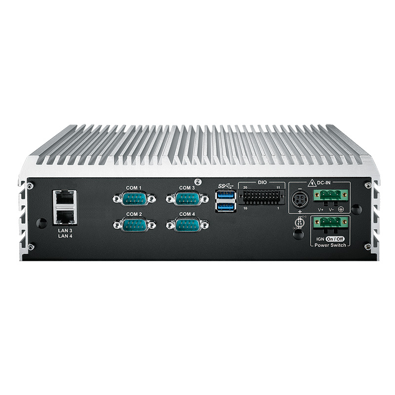 Fanless PC Box , High-Performance Systems - ECS-9000-4G