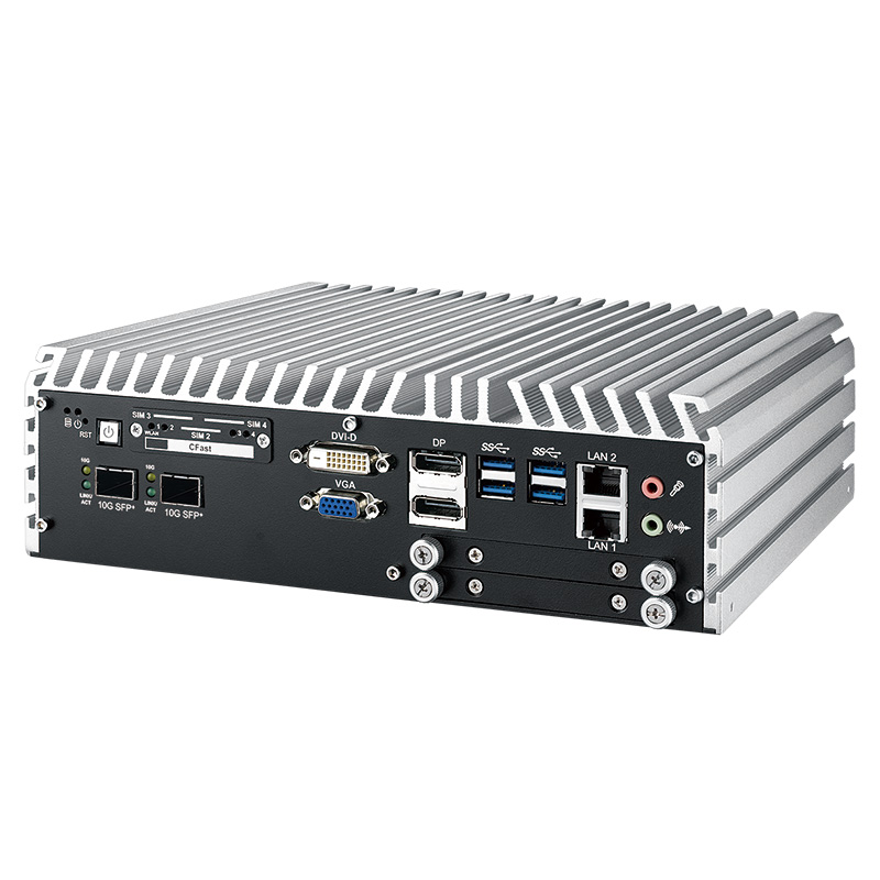 10GigE Systems , Fanless PC Box , High-Performance Systems , In Vehicle , PoE Embedded Systems - ECS-9771