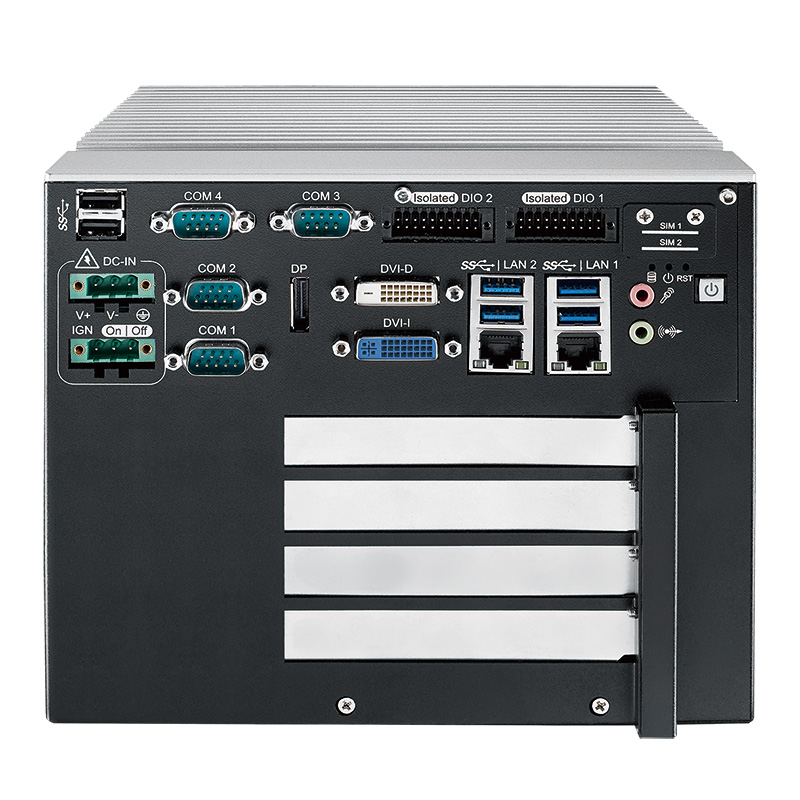 Expandable Systems , Fanless PC Box , High-Performance Systems , In Vehicle - RCS-9422