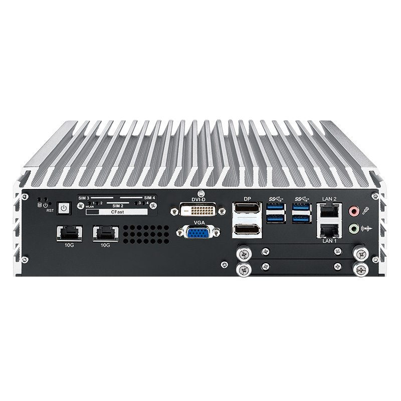 10GigE Systems , Box PC Fanless - ECS-9755