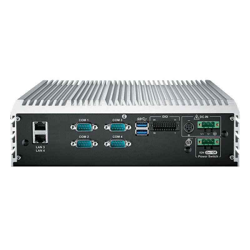 Box PC Fanless , High-Performance Systems - ECS-9000-4R