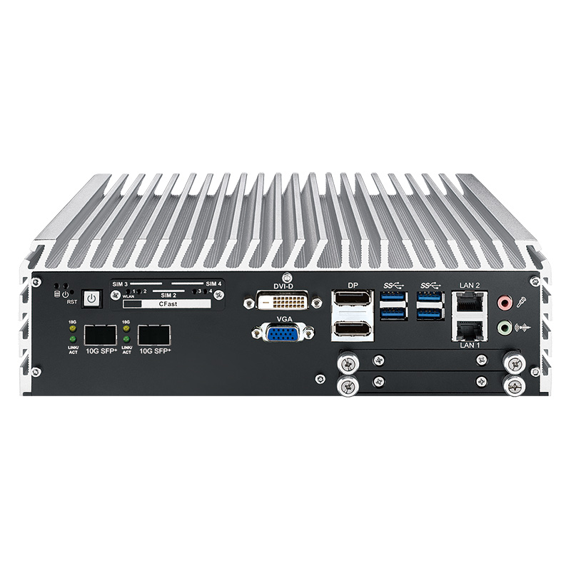 10GigE Systems , Box PC Fanless , High-Performance Systems , In Vehicle , PoE Embedded Systems - ECS-9771