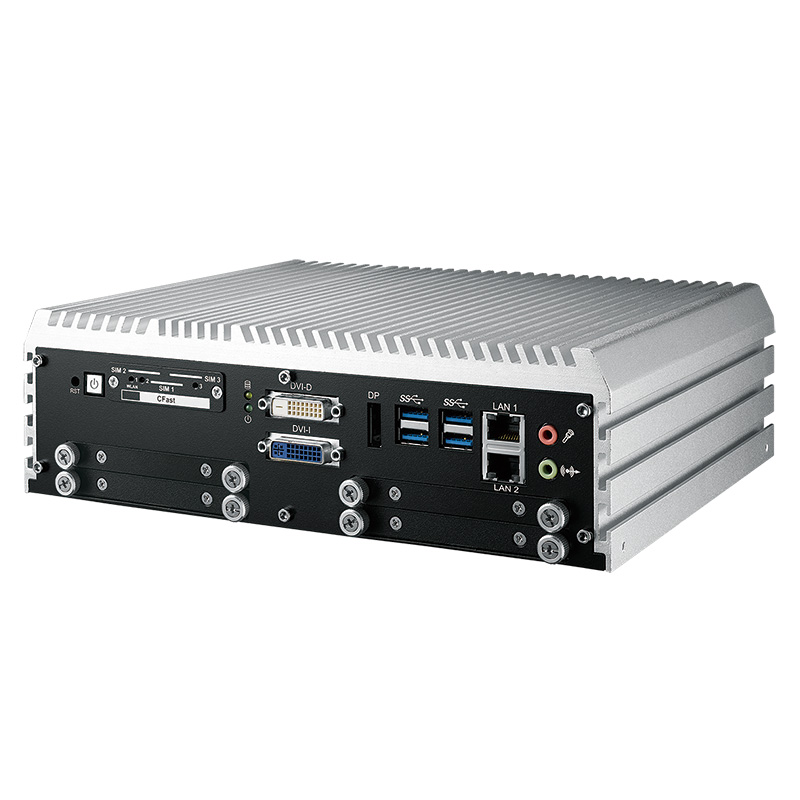 Fanless Box PCs , In Vehicle - IVH-9204MX