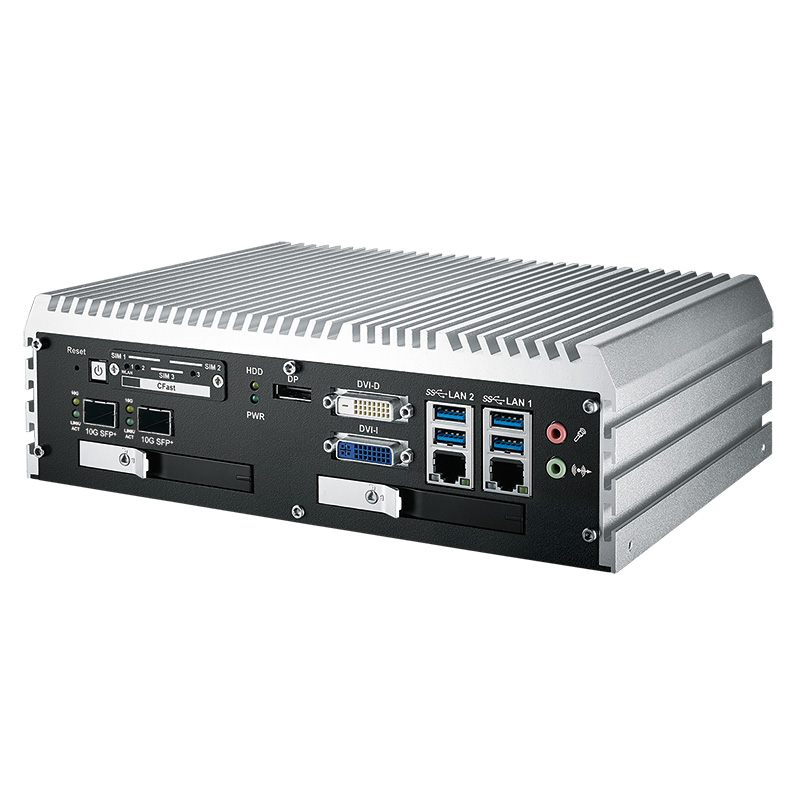 10GigE Systems , Box PC Fanless , High-Performance Systems , In Vehicle - ECS-9071R