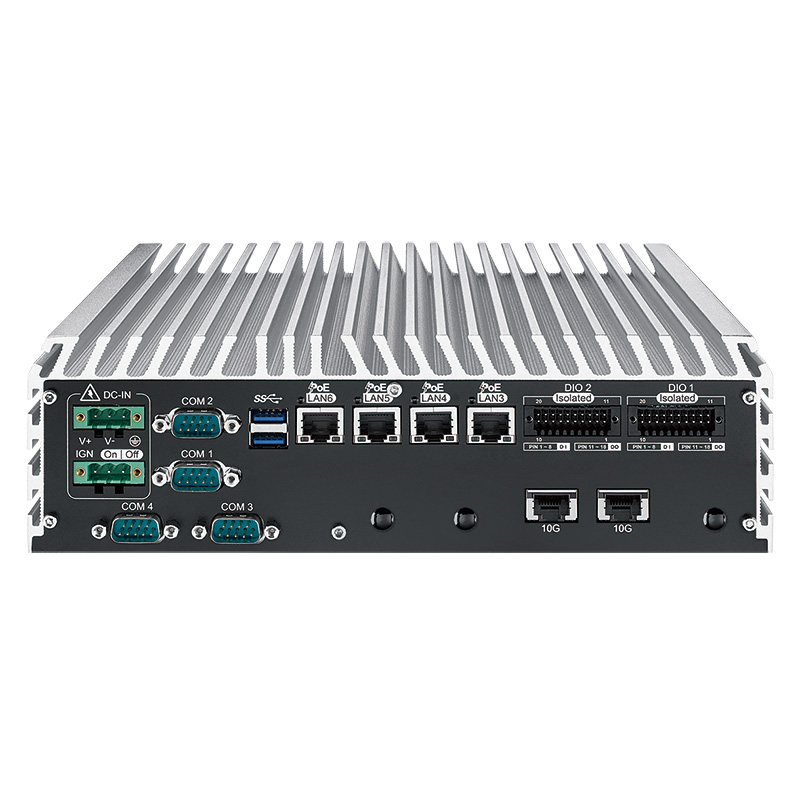 10GigE Systems , Fanless PC Box - ECS-9755