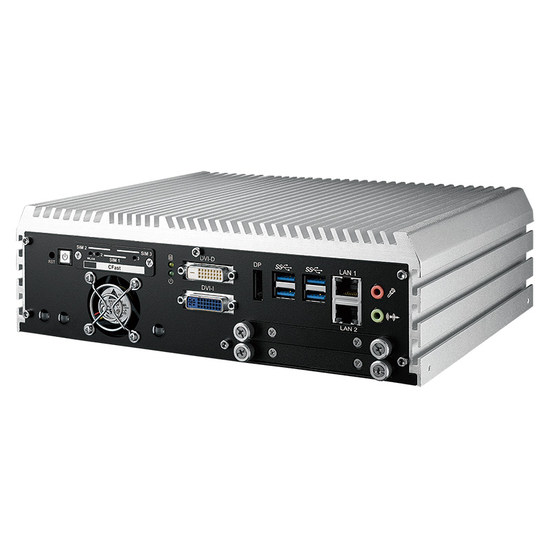 Box PC Fanless , GPU Computing Systems - ECS-9100 GTX1050