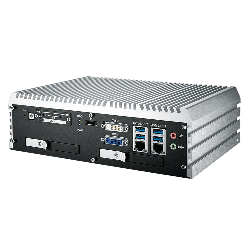 Fanless Box PCs , High-Performance Systems - ECS-9000-2R