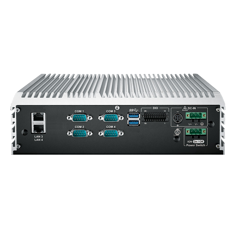 Box PC Fanless , High-Performance Systems - ECS-9000-4G